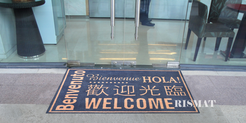各國文字歡迎光臨墊 Multi-language Welcome Mats